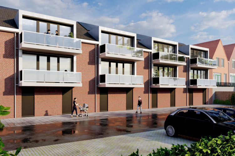 Appartement begane grond, bouwnummer 4, Oude-Tonge